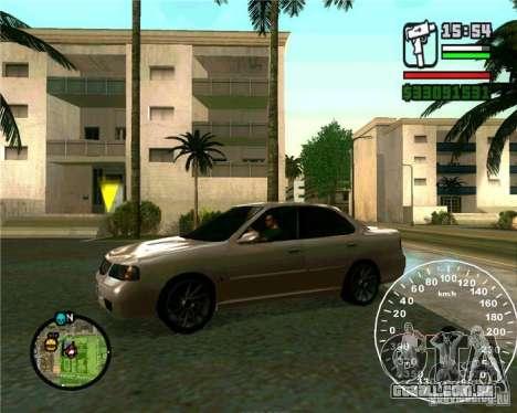 Nissan Sunny para GTA San Andreas esquerda vista