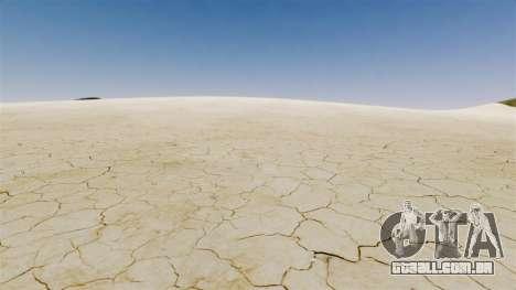 Planícies de sal para GTA 4 por diante tela