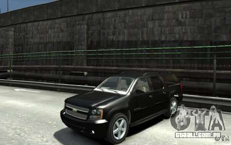 Chevrolet Suburban 2008 (beta) para GTA 4