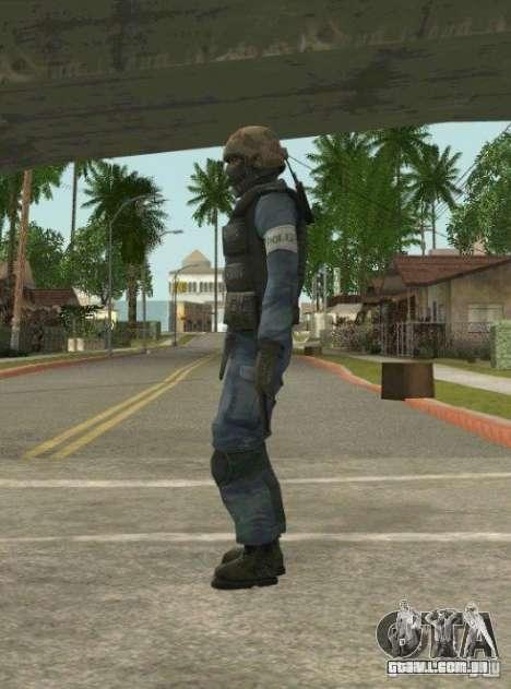 Counter-terrorist para GTA San Andreas sexta tela