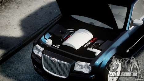 Chrysler 300C SRT8 para GTA 4 vista direita