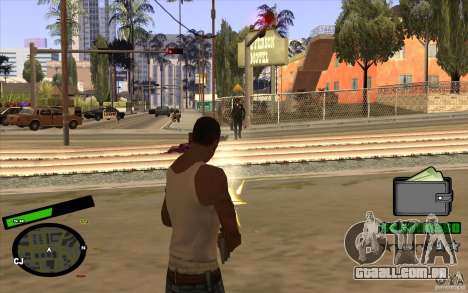 Novo HUD para GTA San Andreas terceira tela