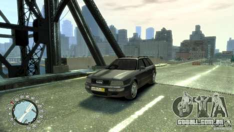Audi RS2 Avant para GTA 4 vista direita