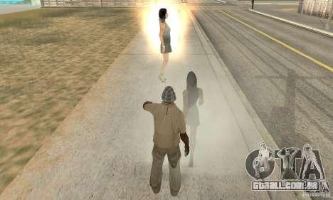SuperClon (clonagem pessoas em SAN ANDREAS) para GTA San Andreas terceira tela