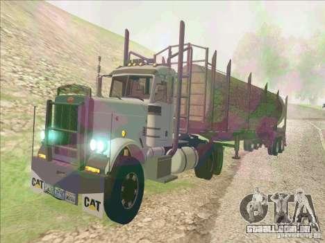 Peterbilt 379 para GTA San Andreas esquerda vista