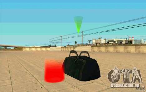 U.S.A.F. Cargo para GTA San Andreas por diante tela