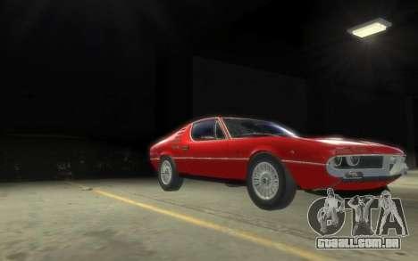 Alfa Romeo Montreal 1970 para GTA 4 esquerda vista