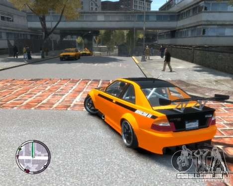 Sultan RS HD FreeStyle Team para GTA 4 esquerda vista