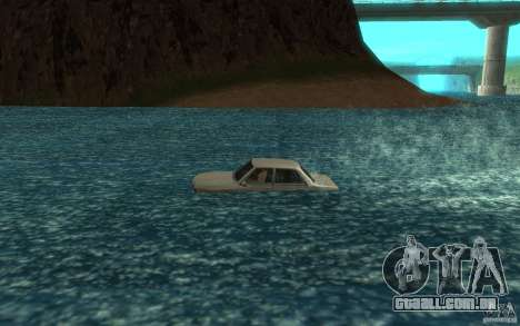 Admiral Boat para GTA San Andreas esquerda vista