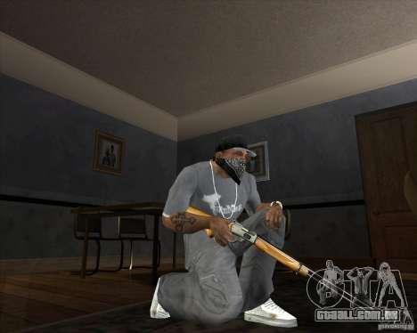 Jarra Mono Arsenal v1.2 para GTA San Andreas sexta tela