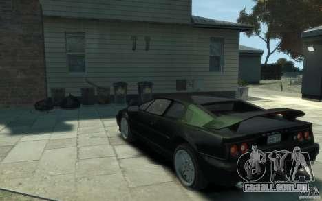 Lotus Esprit V8 para GTA 4 traseira esquerda vista