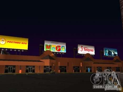 Loja russa em Las Venturase para GTA San Andreas terceira tela