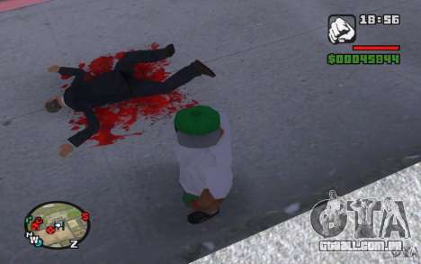 Sangue verdadeiro para GTA San Andreas