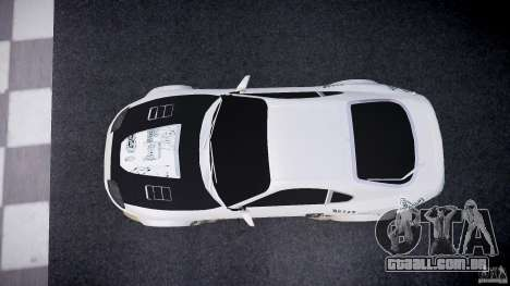 Toyota Supra ProStreet Style para GTA 4 vista direita