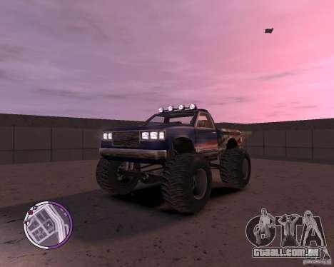 Monster from San Andreas para GTA 4 esquerda vista