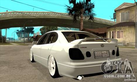 Lexus GS300 V 2003 para GTA San Andreas vista direita