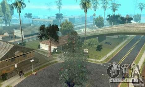 Árvore de Natal para GTA San Andreas