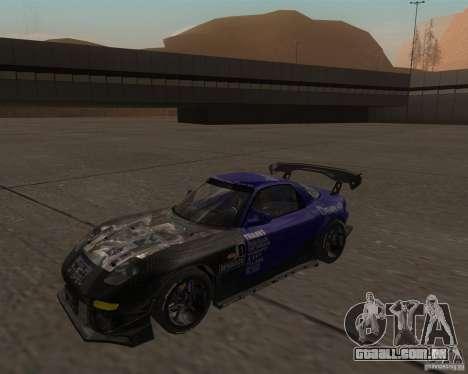 Mazda RX-7 FD3S special type para GTA San Andreas