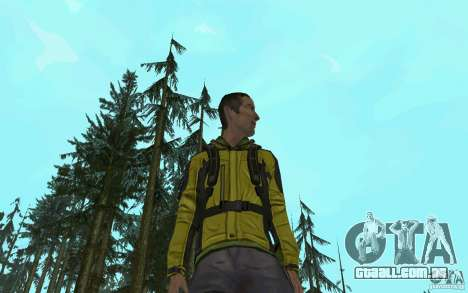 Backpacker HD Skin para GTA San Andreas