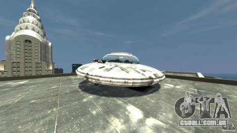 UFO ufo textured para GTA 4 traseira esquerda vista