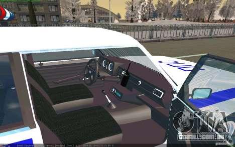 Vaz 2105 PPP Zhiguli para GTA San Andreas vista direita