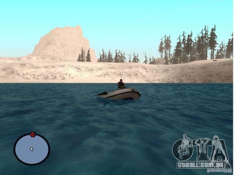 Winter Mod para GTA San Andreas quinto tela