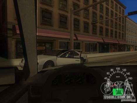 FSO Polonez Caro para GTA San Andreas vista traseira