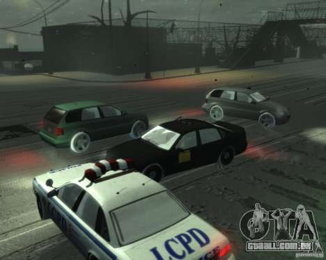 Winter Handling para GTA 4 terceira tela