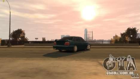 Daewoo Nexia Tuning para GTA 4 vista de volta