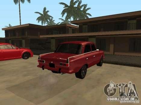 IE AZLK 412 para GTA San Andreas vista traseira