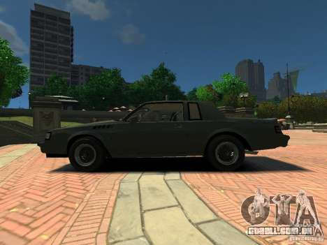 Buick Regal GNX para GTA 4 esquerda vista