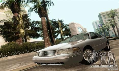 Ford Crown Victoria 2003 para GTA San Andreas