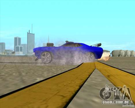 Plymouth Hemi Cuda de NFS Carbon para vista lateral GTA San Andreas