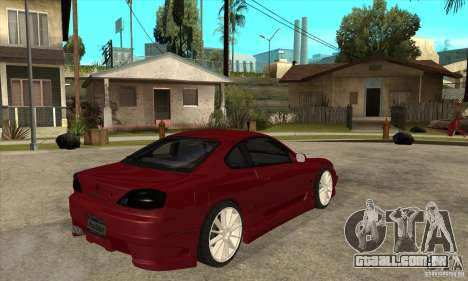 Nissan Silvia para GTA San Andreas vista direita