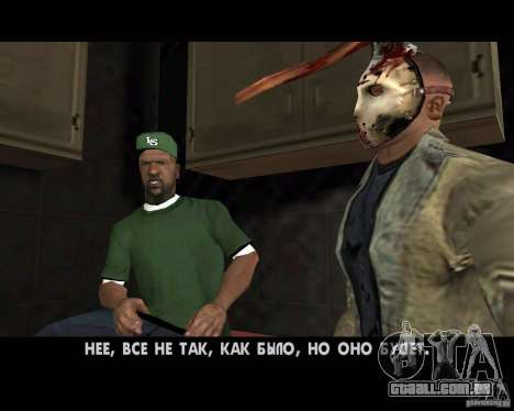 Jason Voorhees para GTA San Andreas oitavo tela