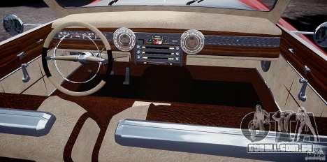 Buick Custom Copperhead 1950 para GTA 4 vista de volta