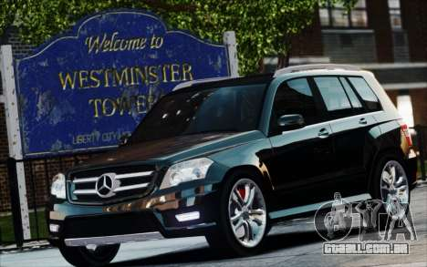 Mercedes-Benz GLK 320 CDI para GTA 4 vista direita