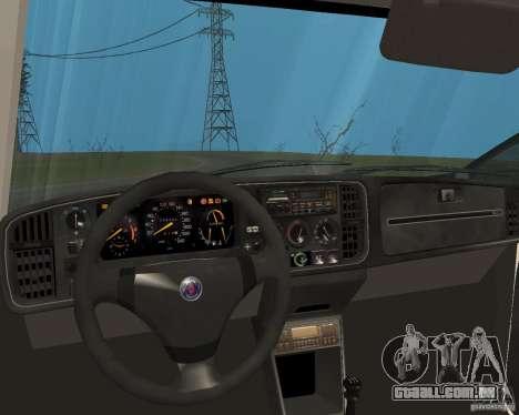 Saab 900 Turbo 1989 v.1.2 para GTA San Andreas vista inferior