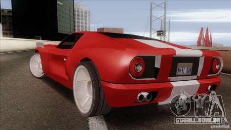 Bullet HD para GTA San Andreas esquerda vista