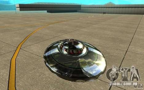 Real UFO para GTA San Andreas vista direita