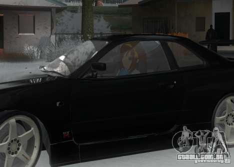 Anime Characters para GTA San Andreas quinto tela