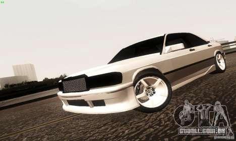 Mercedes-Benz 190E V2.0 para GTA San Andreas
