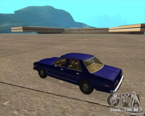 Dodge Aspen 1979 para GTA San Andreas vista direita
