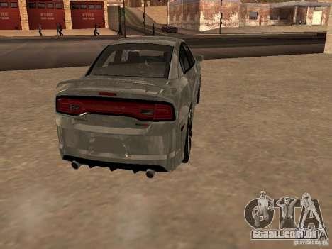 Dodge Charger SRT8 2011 V1.0 para GTA San Andreas vista direita