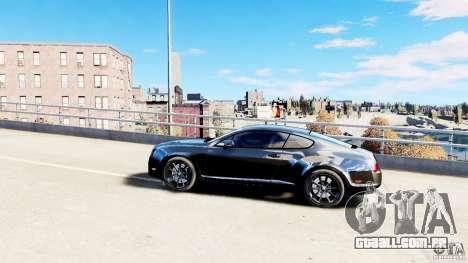 Bentley Continental SuperSports v2.5 para GTA 4 esquerda vista