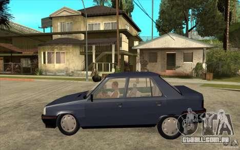 Renault 9 Mod 92 TXE para GTA San Andreas esquerda vista