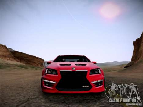Holden HSV GTS para GTA San Andreas vista direita