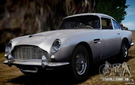 Aston Martin DB5 1964 para GTA 4 vista direita