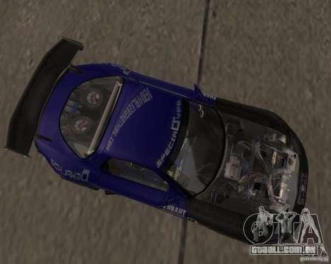 Mazda RX-7 FD3S special type para GTA San Andreas esquerda vista