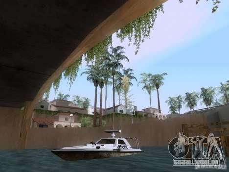 NEW Predator para GTA San Andreas esquerda vista